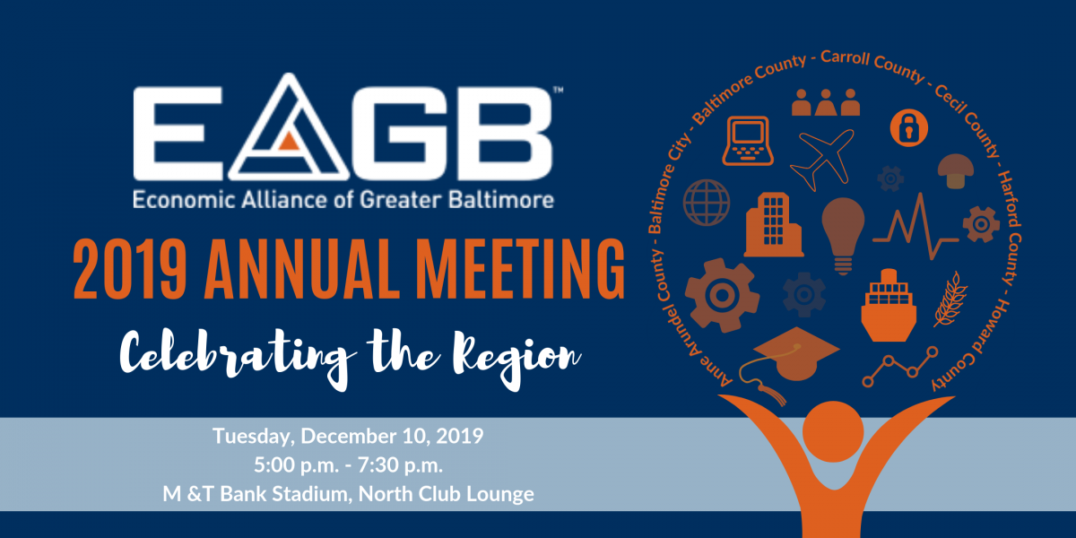 EAGB 2019 Annual Meeting | Economic Alliance of Greater Baltimore