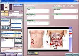 Electronic Health Care Image