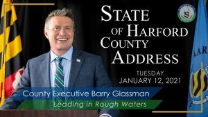 Harford County Executive Barry Glassman delivers virtual 2021 State of the County Address
