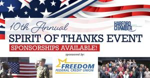 4.Harford County Chamber of Commerce holding 10th annual Spirit of Thanks event