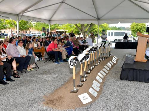 Stevenson University breaks ground on $16M library project at Owings Mills campus