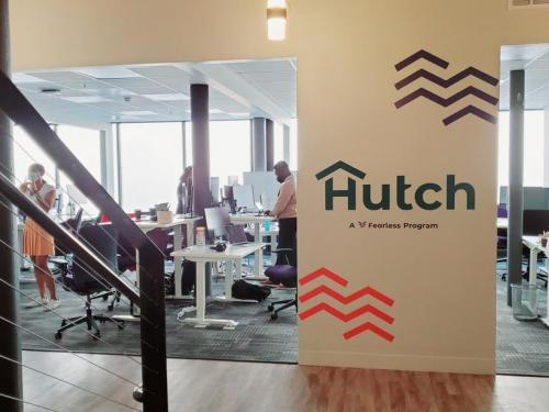 New Hutch incubator space for minority, women-led tech startups debuts downtown