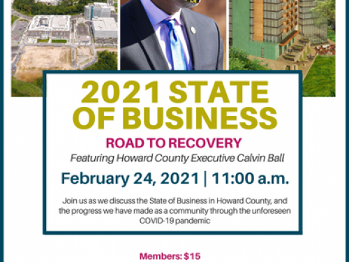 Howard County 2021 State of Business: Road to Recovery Address by County Executive Calvin Ball