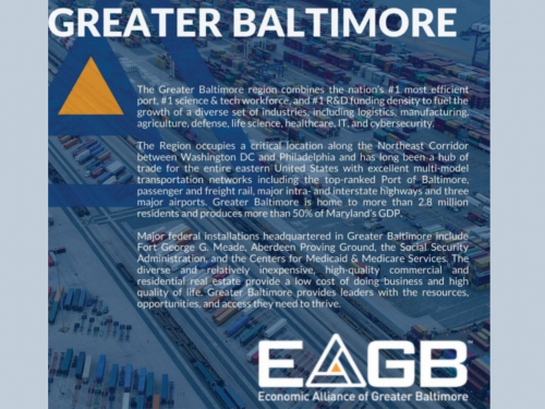 Trade and Industry Development Magazine Featuring Greater Baltimore
