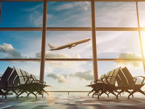 canva stock photo airport image