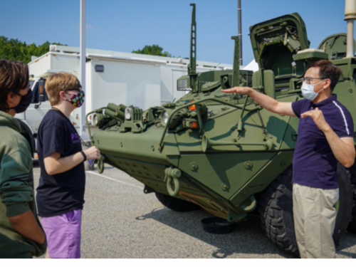 Local Students get firsthand look into future technology and APG operations