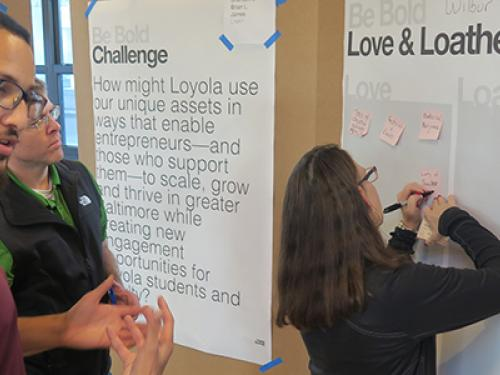 Loyola Angels Fund is educating students to invest in Baltimore businesses
