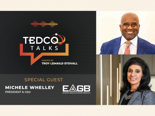 "EAGB CEO Michele Whelley Joins TEDCO'S Virtual Series ""TEDCO Talks"""