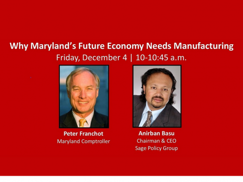 RMI's Why Maryland's Future Economy Needs Manufacturing