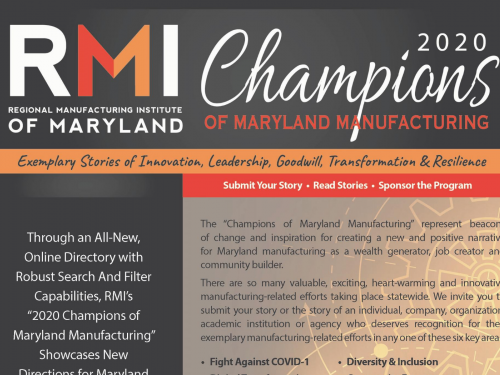 MD Manufacturing Champions of Choice Awards